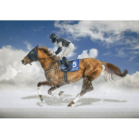 Puzzle Final De White Turf, Saint Moritz - 1500 piezas Educa 16307