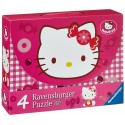 Puzzle Dulce Hello Kitty - 25+25+36+36 progresivo Ravensburger 072637