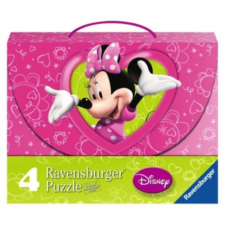 Puzzle Minnie Boutique - 25+25+36+36 progresivo Ravensburger 07 283 5