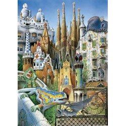 Puzzle Collage - Miniature 1000 piezas Educa 11874