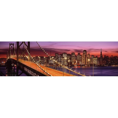 Puzzle Bay Bridge San Francisco - 2000 piezas  Ravensburger 166190