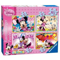 Puzzle Minnie - 25+36+49 progresivo Ravensburger 07 255 2