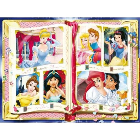 Puzzle Princess treasured memories - 1000 piezas Ravensburger 15 372 5