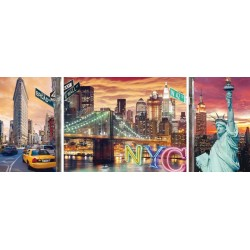 Resplandeciente New York de  1000 piezas  Ravensburger 19995