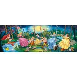 Puzzle Swinging Princesses Disney - 1000 piezas Clementoni 39135