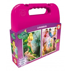 Puzzle Fairies - 2x48 piezas Educa 16515