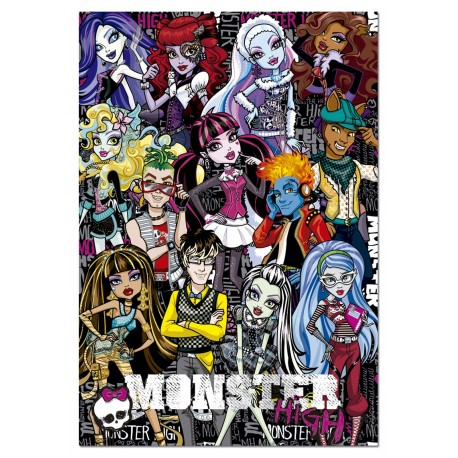 Puzzle Monster High - 500 piezas Educa 15514