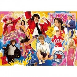 Puzzle High School Musical 3, senior year - 500 piezas Clementoni 30369
