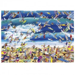 Heye - Blachon - Cartoon Surfing. 1000 piezas