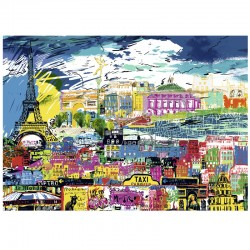 Heye - Kitty McCall - I love Paris. 1000 piezas
