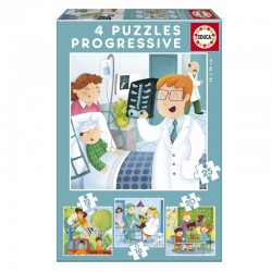Puzzle Progresivos De mayor quiero ser - Educa 17146