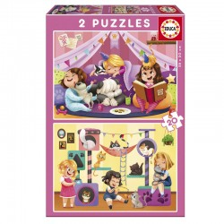 Puzzle Progresivos Pijama Party - Educa 17148