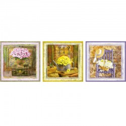 Puzzle Enchanted Moments, Gail Marie ´Deco Puzzle´ de  3x500 piezas  Educa 17095