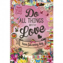 Puzzle Do All Things With Love  - 500 piezas Educa 17086