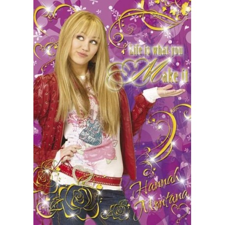 Puzzle Hannah Montana, Life is what you make - 260 piezas Clementoni 21112