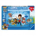 Puzzle Ryder and the Paw Patrol - 2x12 piezas Ravensburger 07586