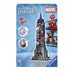Puzzle Marvel Empire State Building 3D -  216 piezas Ravensburger 12517