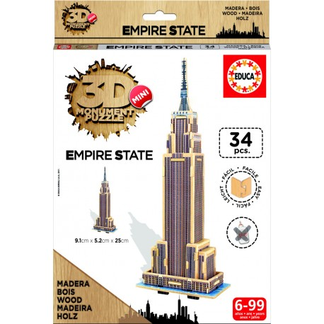 3D Mini Monument Puzzle Empire State Building