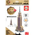 3D Mini Monument Puzzle Empire State Building - 34 piezas Educa 17306