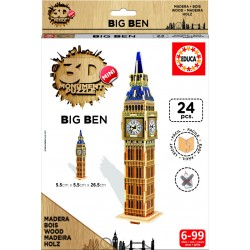 3D Mini Monument Puzzle Big Ben 24 Pcs