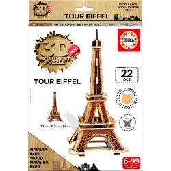 3D Mini Monument Puzzle Tour Eiffel