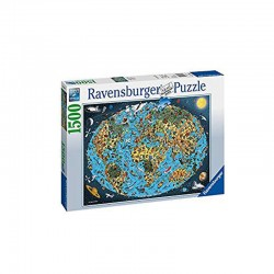 Puzzle Tierra coloreada - 1500 piezas Ravensburger 16360