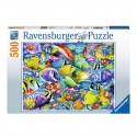 Puzzle Tropical Traffic - 500 piezas Ravensburger 14796