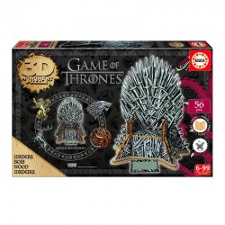 Puzzle 3D Game of Thrones Monument  - 56 piezas Educa 17207