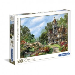 Puzzle Old waterway cottage - 500 piezas Clementoni 35048