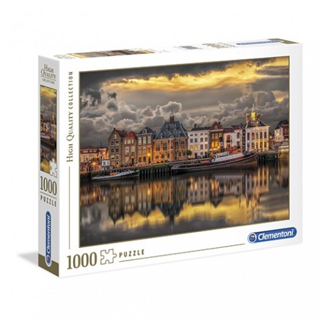 Puzzle Dutch Dreamworld - 1000 piezas Clementoni 39421