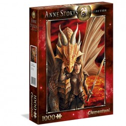 Puzzle Inner Strenght - Anne Stokes Collection - 1000 piezas Clementoni 39464