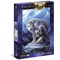 Puzzle Protector - Anne Stokes Collection - 1000 piezas Clementoni 39465