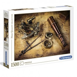 Puzzle Course to the treasure - 1500 piezas Clementoni 31808