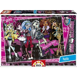 Puzzle Monster High - 200 piezas Educa 15630