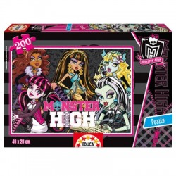 Puzzle Monster High - 200 piezas Educa 15131