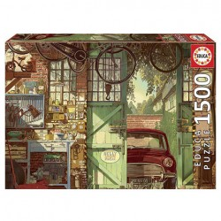 Puzzle Old Garage, Arly Jones - 1500 piezas Educa 18005
