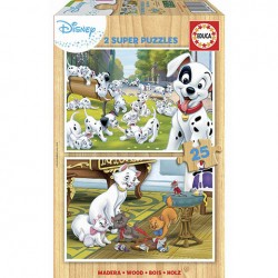 Puzzle Disney Animals - 2x25 piezas Educa 18082