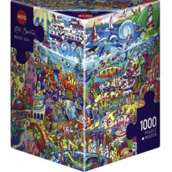 Puzzle Magic Sea - 1000 piezas caja Triangular Heye 29839