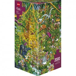 Puzzle Deep Jungle - 2000 piezas caja Square edition Heye 29892