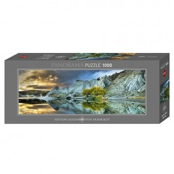 Puzzle Blue Lake - 1000 piezas Panorama Heye 29715
