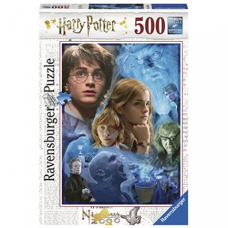 Puzzle Harry Potter in Hogwarts - 500 piezas Ravensburger 14821