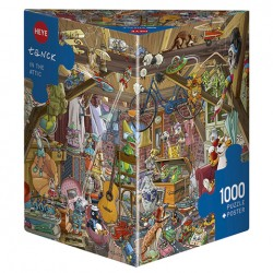 Puzzle In The Attic - 1000 piezas caja Triangular Heye 29885