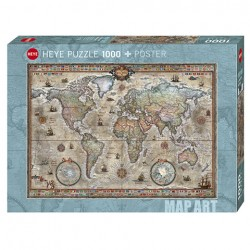 Puzzle Retro World - 1000 piezas Heye 29871