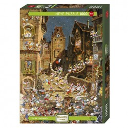 Puzzle By Night - 1000 piezas - Heye 29875