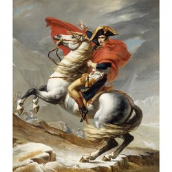 Puzzle Bonaparte crossing the Grand Sain-Bernard - 1500 piezas Ricordi Arte 26144