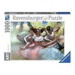 Puzzle Degas: Four ballerinas on the stage - 1000 piezas Ravensburger 14847