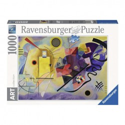 Puzzle Kandinsky, Wassily:Yellow, Red, Blue - 1000 piezas Ravensburger 14848