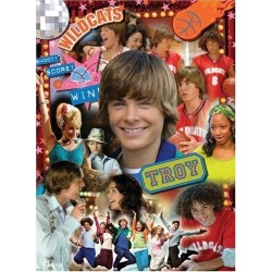 Puzzle High School Musical, Troy superstar - 200 piezas Ravensburger 12 787 0