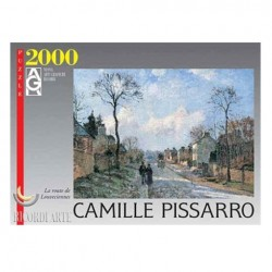 Puzzle Winter Sun and Snow de Pissarro 2000 piezas Ricordi Arte 14748