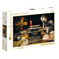 Puzzle The Typewriter - 500 piezas Clementoni 35040